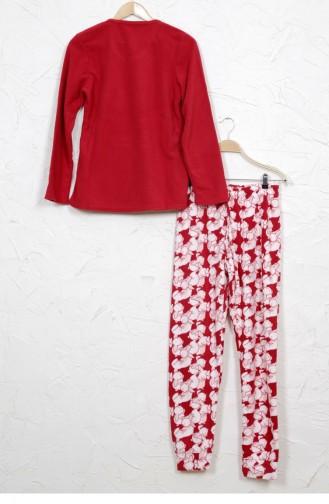 Claret red Pyjama 8041893985.BORDO