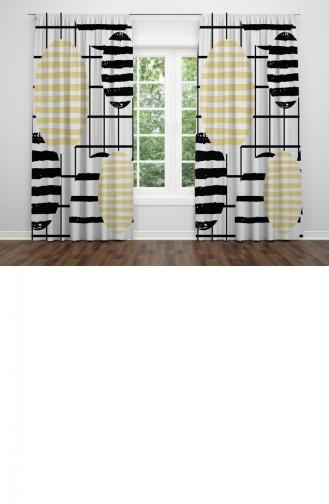 Textile de Maison Noir 8695353235432.BEYAZSIYAH