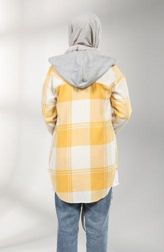 Yellow Overhemdblouse 5333-01