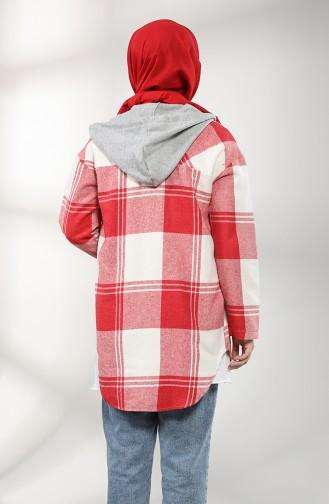 Red Overhemdblouse 5333-02