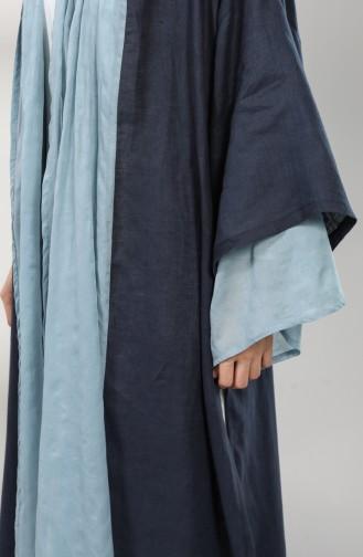 Navy Blue Kimono 0006-01