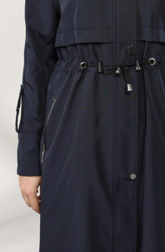 Navy Blue Coat 8026-05