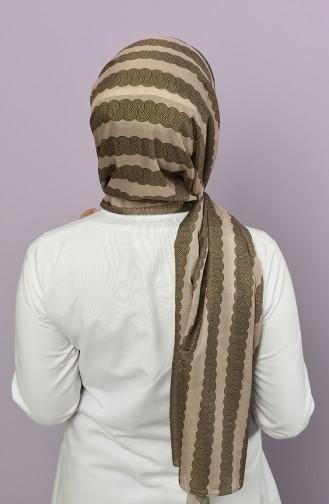 Khaki Shawl 95350-05