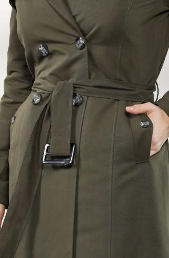 Khaki Trench Coats Models 4600-03