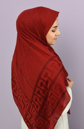Claret red Scarf 4222-4-677