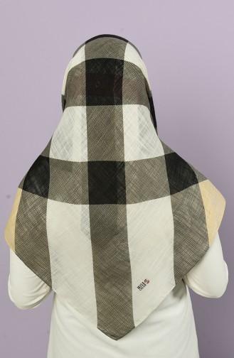 Dunkel-Beige Kopftuch 2511-5282B-09