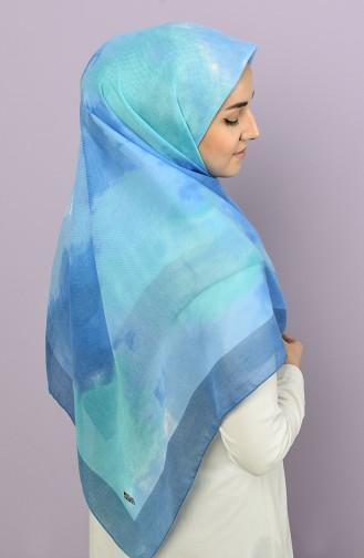 Blau Kopftuch 4501-8397-08