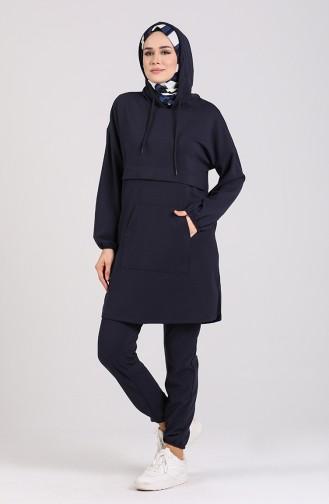Navy Blue Sweatsuit 0919-01