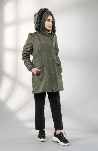 Khaki Coat 9057-05