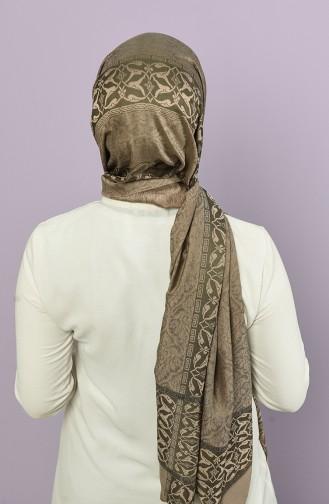 Khaki Shawl 21325-6B-817