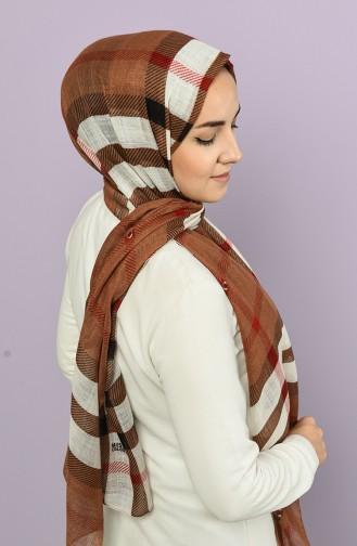 Brown Shawl 4511-4255A-09
