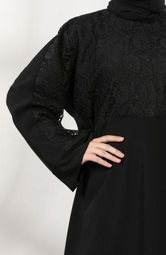 Robe Hijab Noir 0069-01