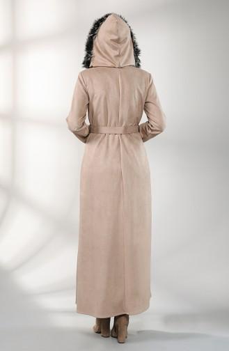 Beige Abaya 0151-07