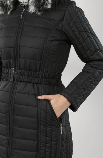 Manteau Noir 0812-01