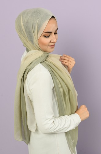 Water Green Shawl 4501-3231A-01