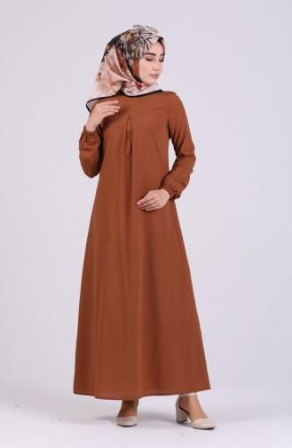 فستان بني قرفة 1426-03