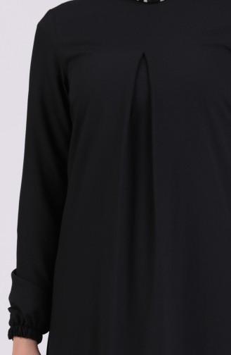 Schwarz Hijap Kleider 1426-04