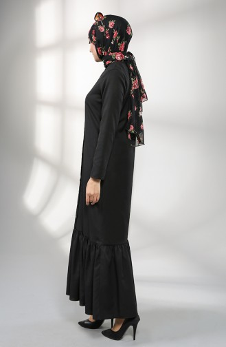 Robe Hijab Noir 3201-07