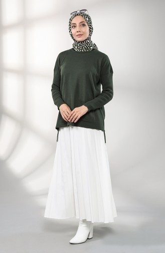 Khaki Blouse 4215-03