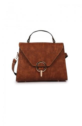 Tobacco Brown Shoulder Bag 37Z-04
