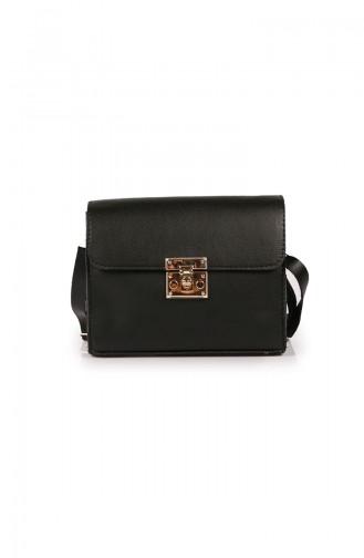 Black Shoulder Bag 64Z-01