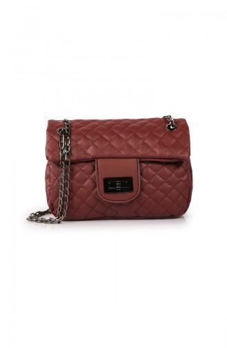 حقيبة كتف أحمر كلاريت 65Z-03