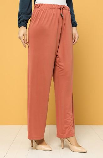 Modal Fabric Elastic Waist Trousers 1317-01 Tile 1317-01
