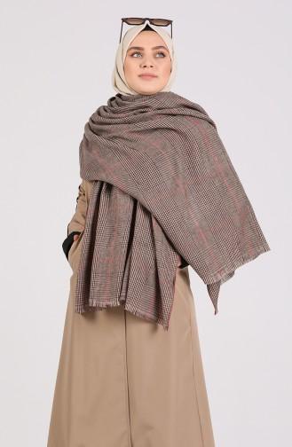 Brown Poncho 42800-02