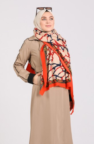 Orange Poncho 43100-03