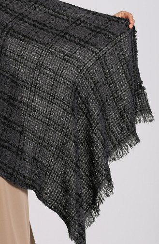 Black Poncho 43200-01