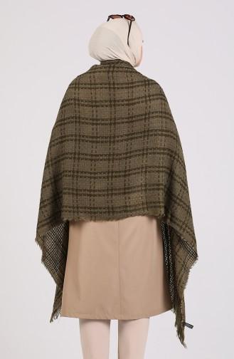 Khaki Poncho 43200-02