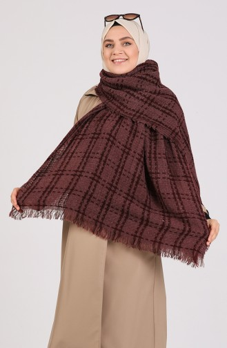 Claret red Poncho 43200-04