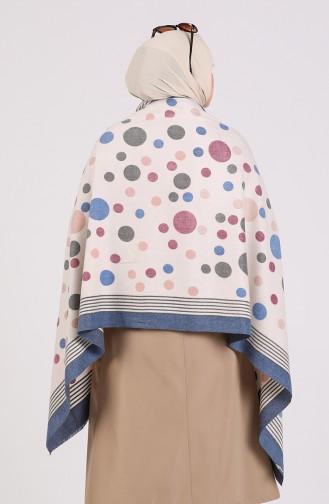 Blue Poncho 43600-07