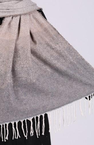 Gray Poncho 2558-03