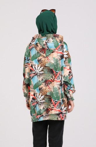 Green Sweatshirt 5021A-01