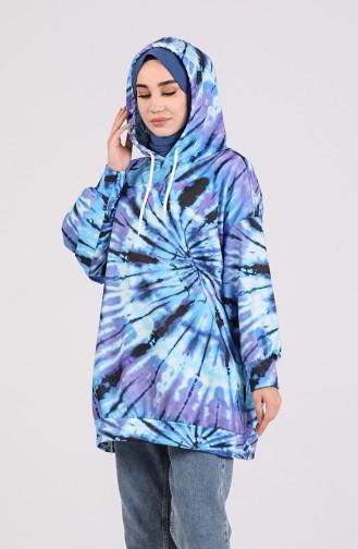 Purple Sweatshirt 5021D-01