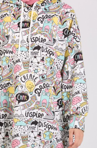Ecru Sweat shirt 5021J-01