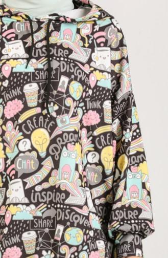قميص رياضي أصفر 5021K-01