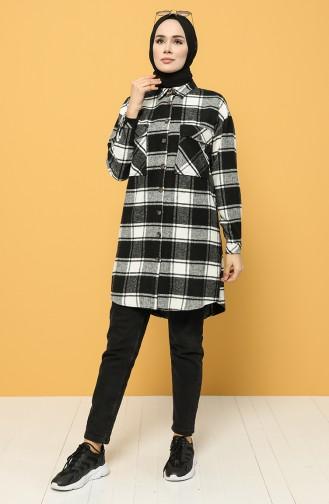 Black Overhemdblouse 1329-01