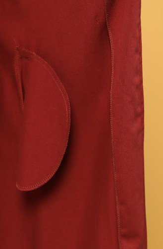 Claret red Cape 1262-02
