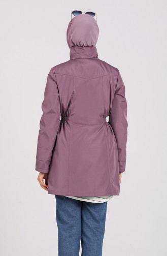 Lilac Trench Coats Models 1474-05