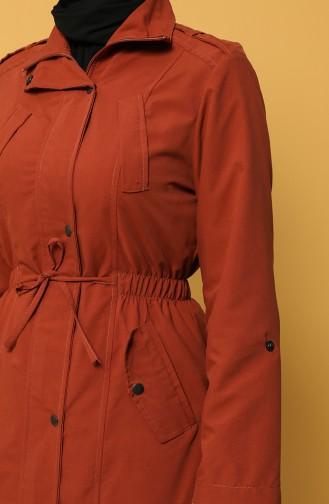 Trench Coat Couleur brique 2130-02