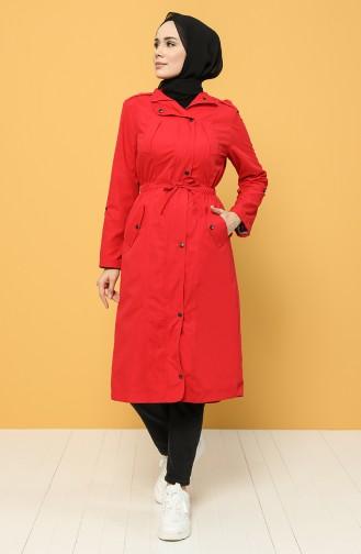 Rot Trench Coats Models 2130-04