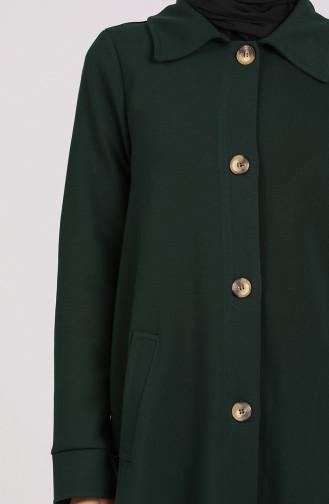 Dunkelgrün Trench Coats Models 4307-04