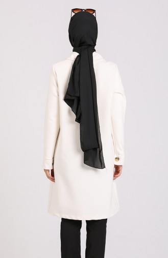 White Trench Coats Models 4307-05