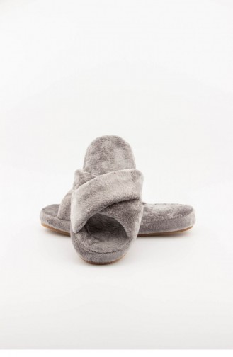 Gray Woman home slippers 3576.MM GRI