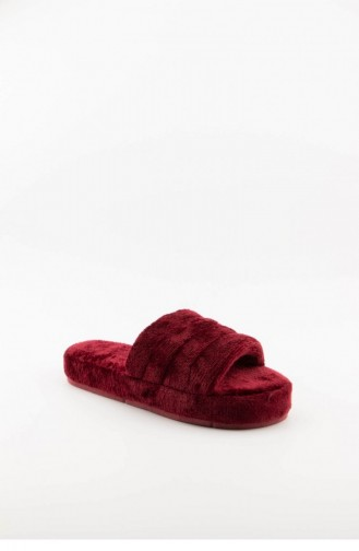 Claret red Woman home slippers 3577.MM BORDO