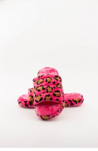 Pink Woman home slippers 3577.MM LEOPAR