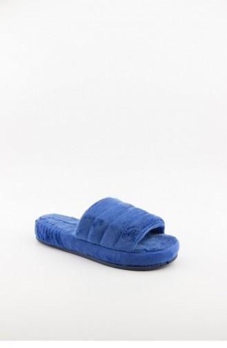 Blue Woman home slippers 3577.MM MAVI