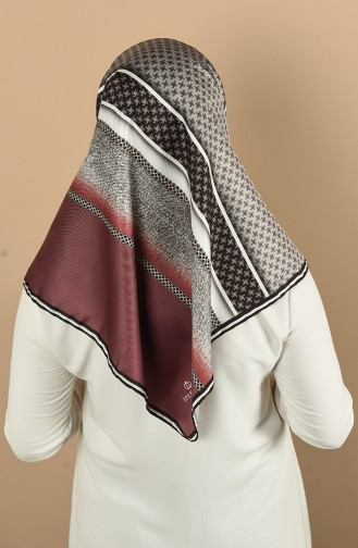 Claret red Scarf 6100-05